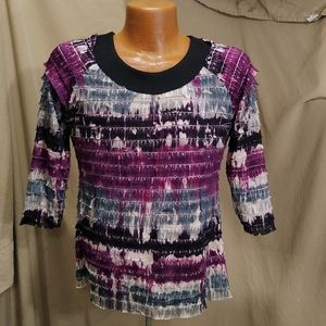 Notations Business Blouse Women's Size Small